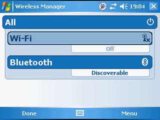TSC 2 Wireless manager