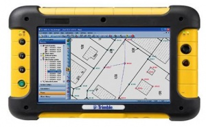 Trimble Tablet PC ultra-gumírozott táblapc
