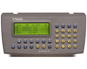 Trimble Geodimeter Control Unit